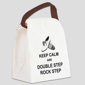 Keep Calm and Double Step Rock St Canvas Lunch Bag