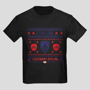 GOTG Holiday Kids Dark T-Shirt