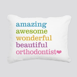 Amazing Orthodontist Rectangular Canvas Pillow