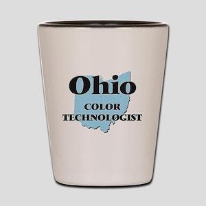 Ohio Color Technologist Shot Glass