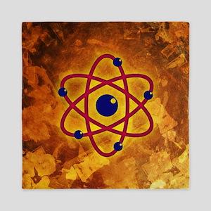 Atom Queen Duvet