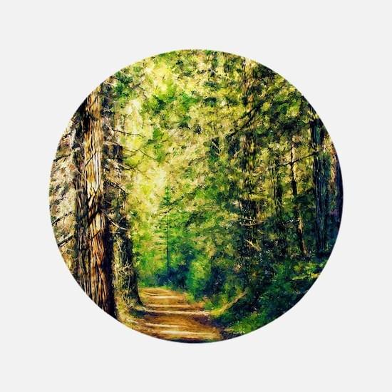 Sunlit Trail Button