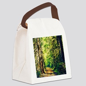 Sunlit Trail Canvas Lunch Bag