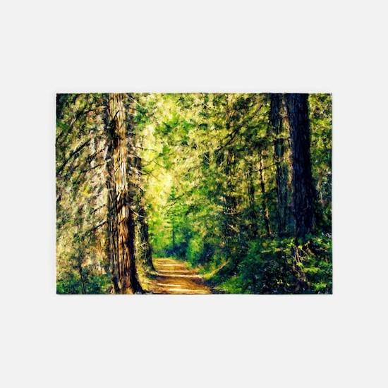 Sunlit Trail 5'x7'Area Rug