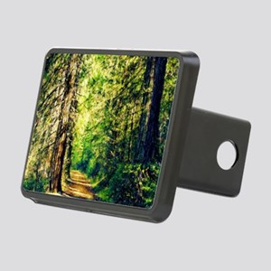 Sunlit Trail Rectangular Hitch Cover