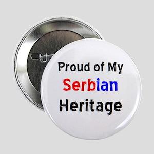 "serbian heritage 2.25"" Button"