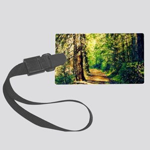 Sunlit Trail Large Luggage Tag