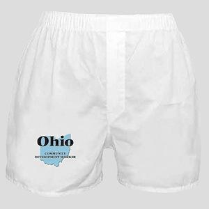 Ohio Community Development Worker Boxer Shorts