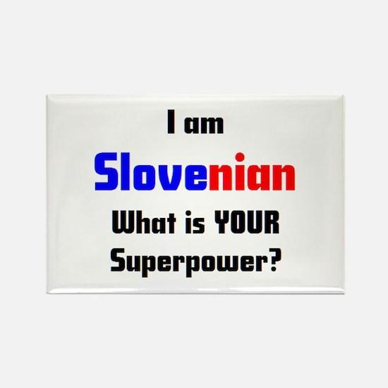 i am slovenian Rectangle Magnet