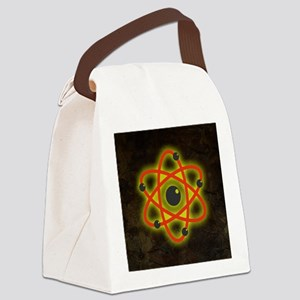 Atom Canvas Lunch Bag