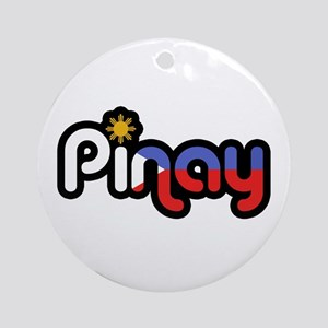 Pinay Ornament (Round)
