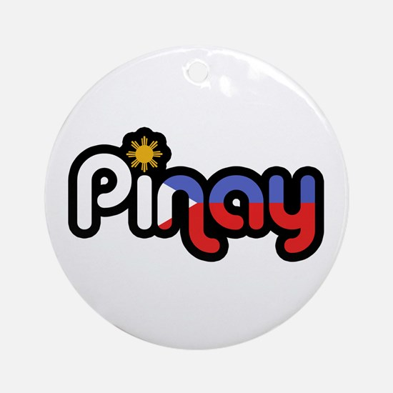 Pinay Ornament (Round)