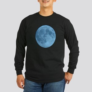 Once in a Blue Moon Long Sleeve Dark T-Shirt