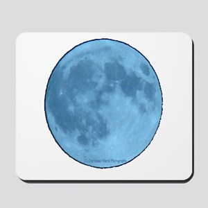 Once in a Blue Moon Mousepad