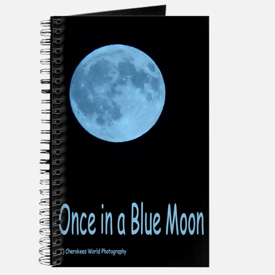 Once in a Blue Moon Journal