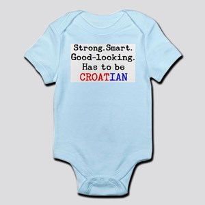 be croatian Infant Bodysuit