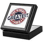 Worlds Greatest Papa Keepsake Box