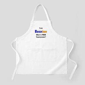 i am bosnian Apron