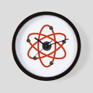 Atom Wall Clock