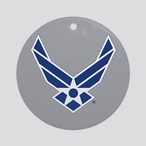 Air Force Symbol Round Ornament