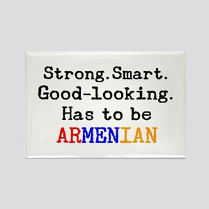 be armenian Rectangle Magnet