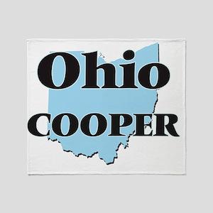 Ohio Cooper Throw Blanket