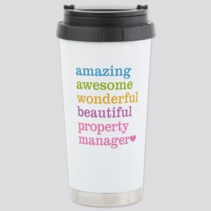 Amazing Property Manage Stainless Steel Travel Mug