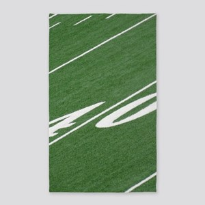 40 Yard Line Area Rug