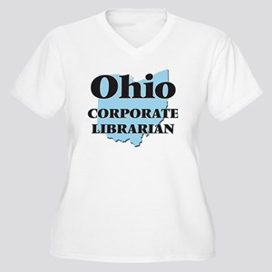 Ohio Corporate Librarian Plus Size T-Shirt