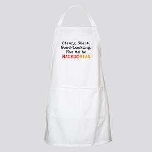 be macedonian Apron