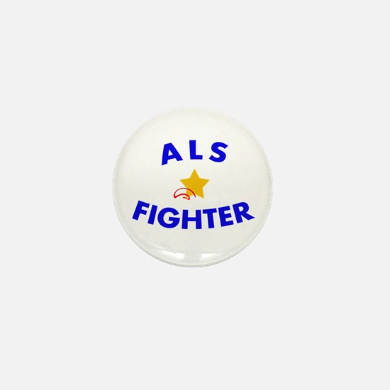 Cute Amyotrophic lateral sclerosis Mini Button