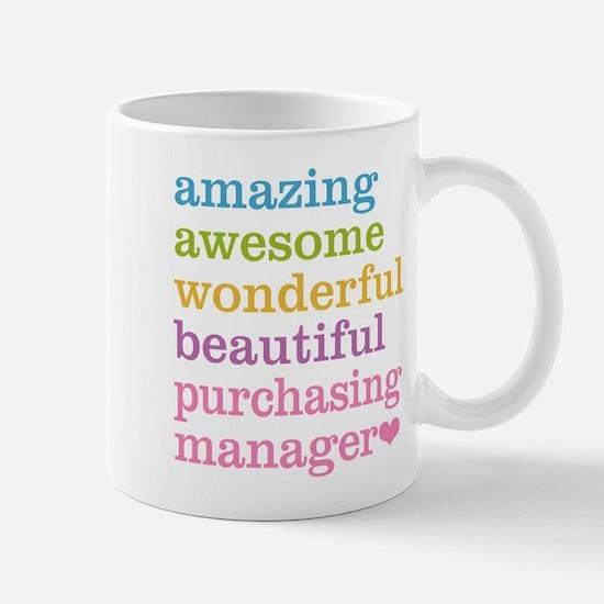 Amazing Purchasing Manager Mugs