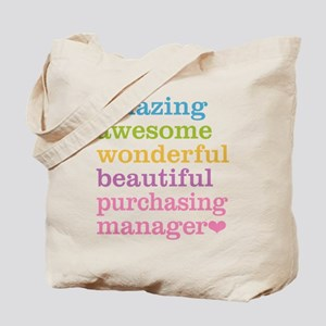 Amazing Purchasing Manager Tote Bag