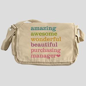 Amazing Purchasing Manager Messenger Bag