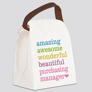Amazing Purchasing Manager Canvas Lunch Bag