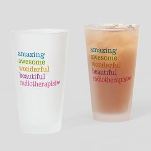 Amazing Radiotherapist Drinking Glass