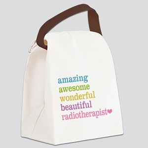 Amazing Radiotherapist Canvas Lunch Bag