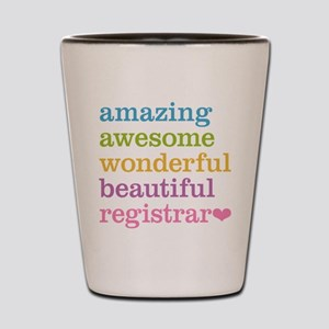 Amazing Registrar Shot Glass