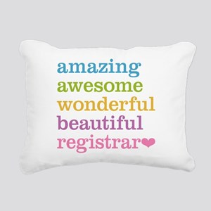 Amazing Registrar Rectangular Canvas Pillow