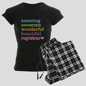 Amazing Registrar Women's Dark Pajamas