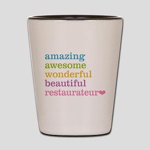 Amazing Restaurateur Shot Glass