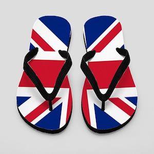 British union jack flag Flip Flops