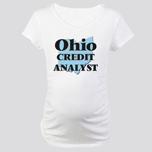 Ohio Credit Analyst Maternity T-Shirt