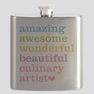 Amazing Culinary Artist Flask