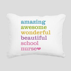 Amazing School Nurse Rectangular Canvas Pillow