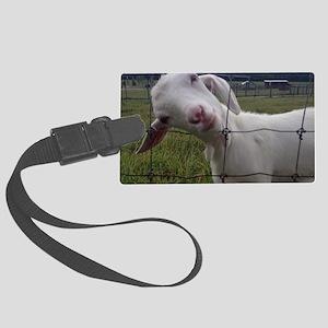 Got Goat? Large Luggage Tag