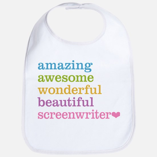 Amazing Screenwriter Bib