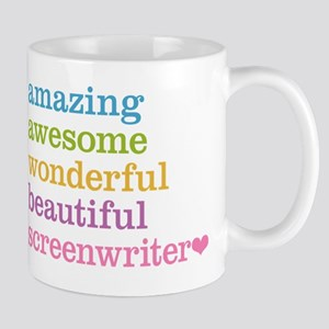 Amazing Screenwriter Mugs