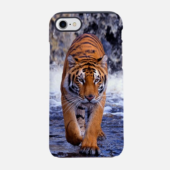 Tiger In Waterfall iPhone 8/7 Tough Case