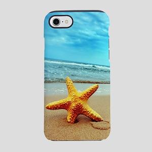 Starfish On The Beach iPhone 8/7 Tough Case